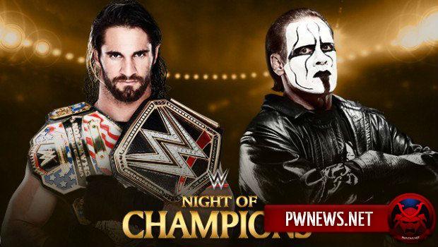 Seth Rollins vs. Sting - Night of Champions 2015