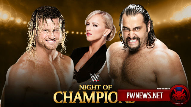 Dolph Ziggler vs. Rusev - Night of Champions