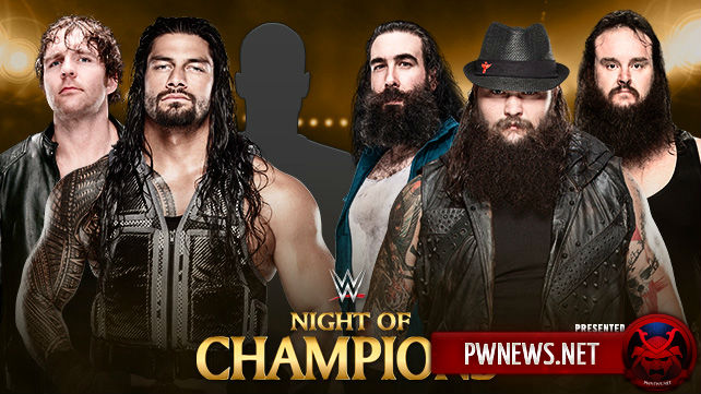 The Wyatt Family vs. Reigns. Ambrose & ???