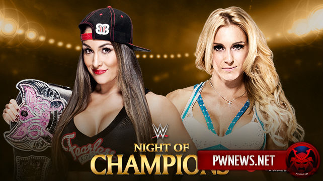 Nikki Bella vs. Charlotte - Night of Champions 2015
