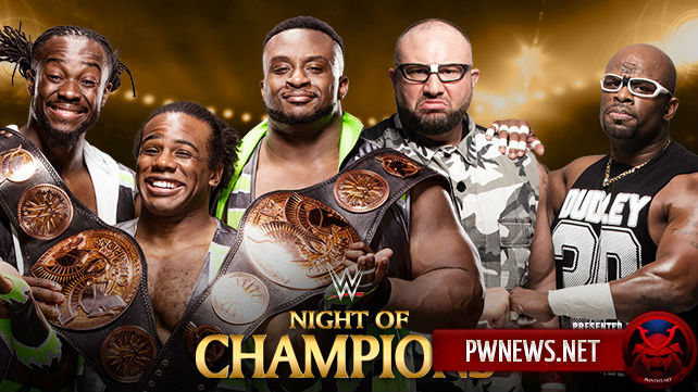 The New Day vs. The Dudley Boyz - Night of Champions