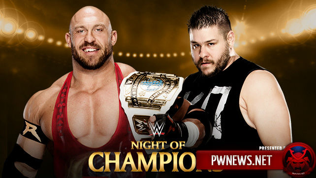 Ryback vs. Kevin Owens — Night of Champions 2015