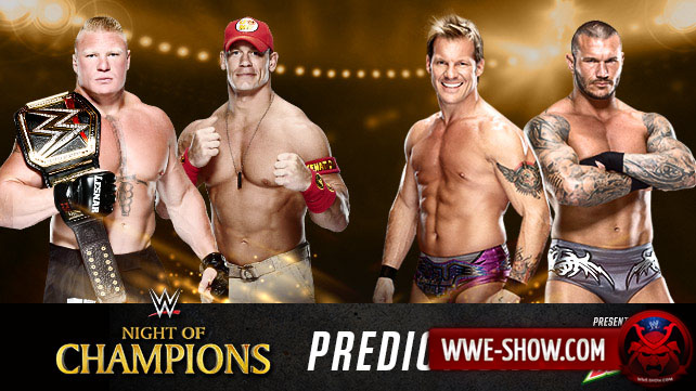 Результаты WWE Night of Champions 2014