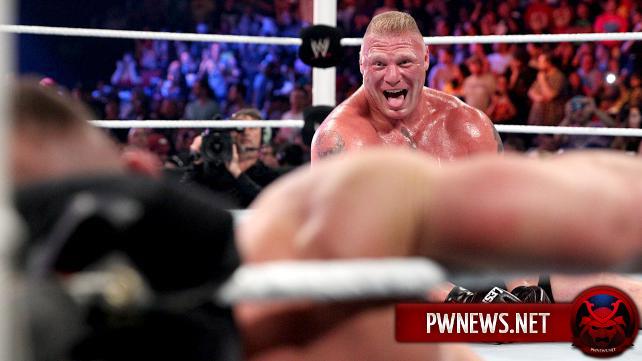 Обновление в дороге Брока Леснара на WrestleMania