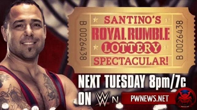 Лотерея Royal Rumble 2015
