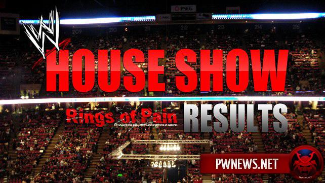 Результаты хаус-шоу NXT 17.01.15