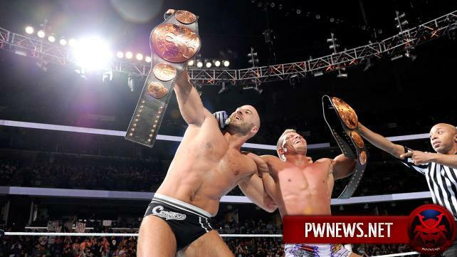 Новые командные чемпионы WWE