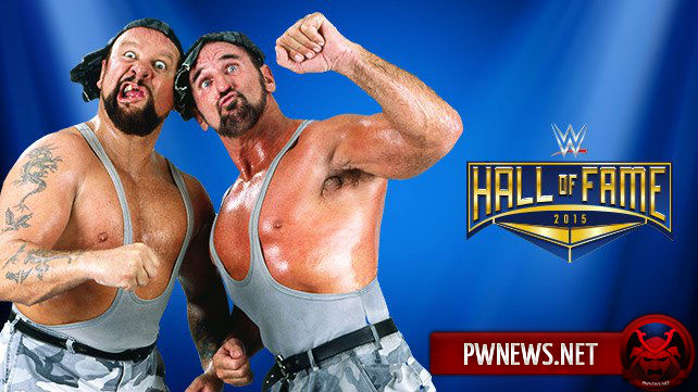 The Bushwhackers войдут в Hall of Fame