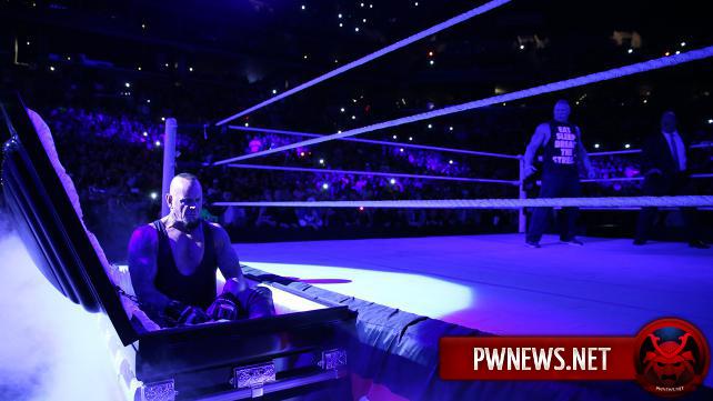 Гробовщик вернется на Royal Rumble 2016?