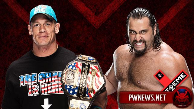 Сина и Русев на Extreme Rules 2015