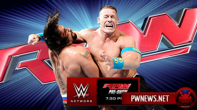 Превью к WWE Monday Night RAW 11.05.2015