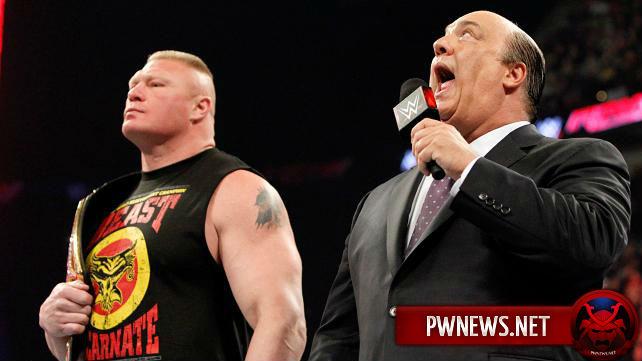 Брок Леснар на большом эпизоде RAW?