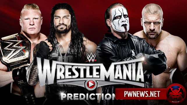 Результаты WWE Wrestlemania 31