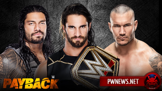 Rollins vs. Reigns vs. Orton on Payback 2015