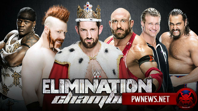 Elimination Chamber за ИК титул