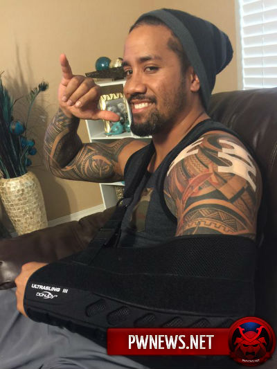 Джей Юсо после операции