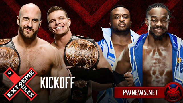 Tyson Kidd & Cesaro vs. The New Day