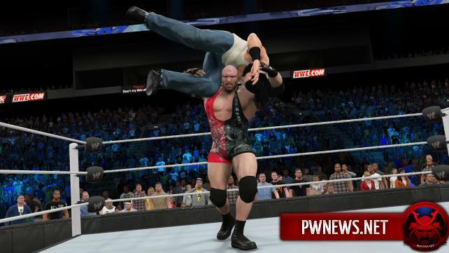 WWE 2k15 скриншоты