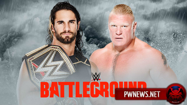 Seth Rollins vs. Brock Lesnar — Battleground