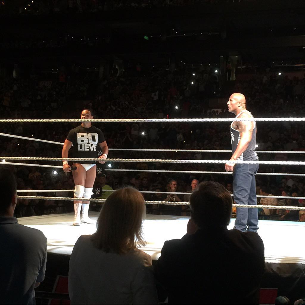 The Rock вернулся на хаус-шоу 2015