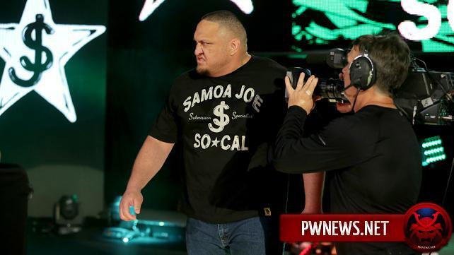 Самоа Джо проведет матч в ROH
