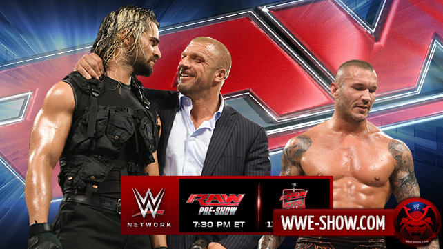 Превью к WWE Monday Night RAW 09.06.14
