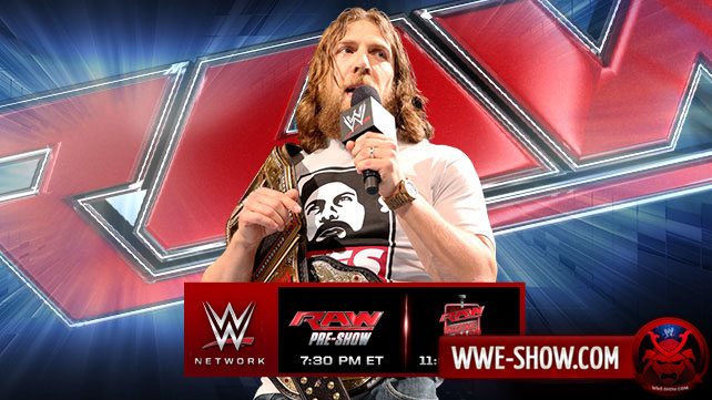 Превью к WWE Monday Night RAW 19.05.14