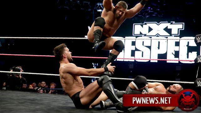 Возможный титульный матч на NXT