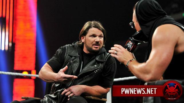 Закулисное отношение WWE к ЭйДжей Стайлзу