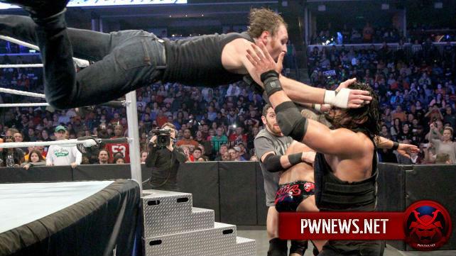 SmackDown вновь терпит упадок в рейтингах
