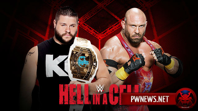 Kevin Owens vs. Ryback on Hell in a Cell 2015