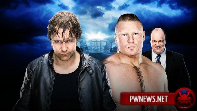 Brock Lesnar vs. Dean Ambrose - WrestleMania 32
