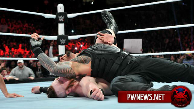 Реакция работников WWE на победу Романа Рейнса