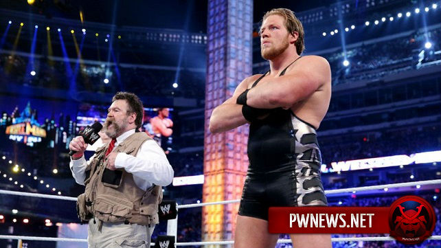 О статусе Джека Сваггера в WWE