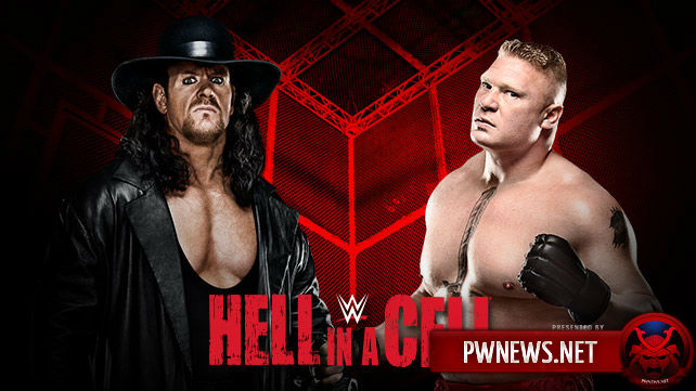 The Undertaker vs. Brock Lesnar — Hell in a Cell 2015