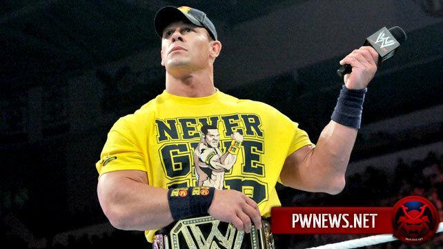 Реакция WWE на травму Джона Сины
