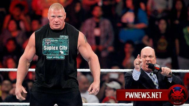 Брок Леснар заявлен на RAW 11 января