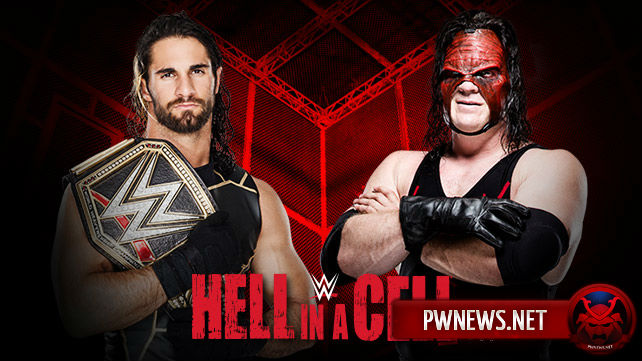 Seth Rollins vs. Demon Kane - Hell in a Cell 2015