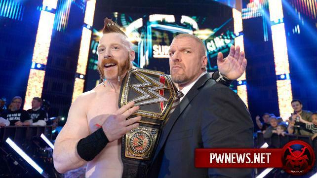Шеймус - новый чемпион WWE