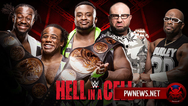 The New Day vs. The Dudley Boyz - Hell in a Cell 2015