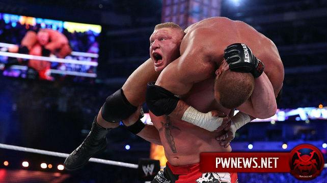 WWE сняли Брока Леснара с записей SmackDown