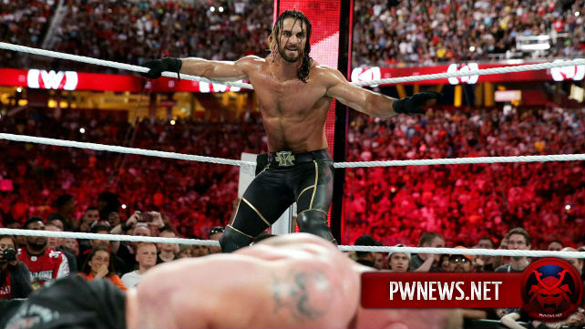 Rollins vs. Lesnar vs. Reigns на WrestleMania 32?