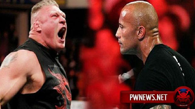Леснар не проведет матч с Роком на WrestleMania?