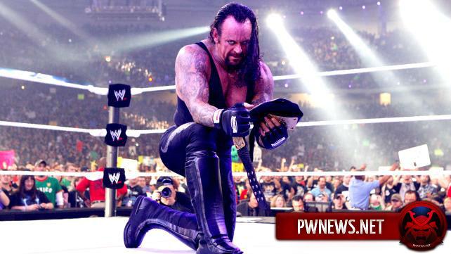 WWE не определились с матчем для Гробовщика?
