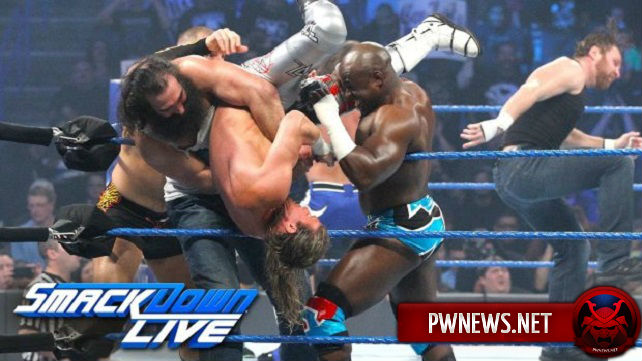 Как неразбериха вокруг претендентства на чемпионство WWE влияет на просмотры SmackDown? Известны рейтинги