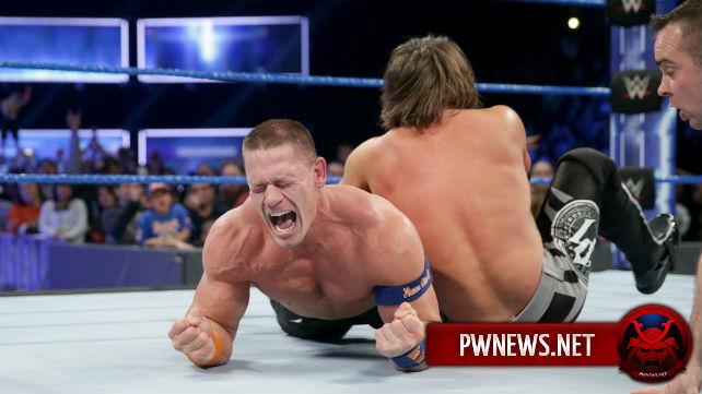 О статусе Джона Сины в WWE после WrestleMania 33