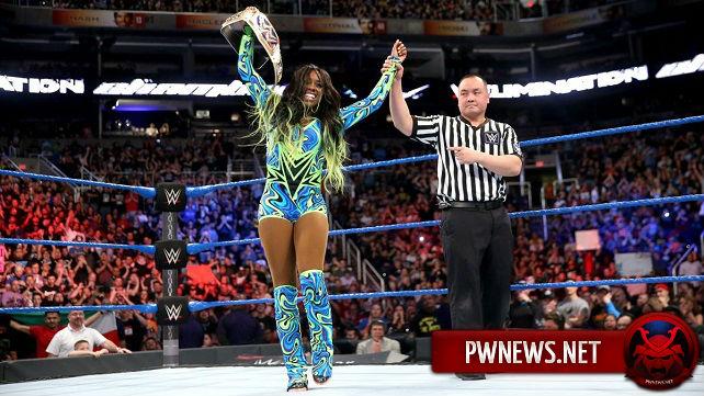 Из-за чего Наоми выиграла чемпионство женщин SD?; Бывшая дива намекает на свое возвращение в WWE