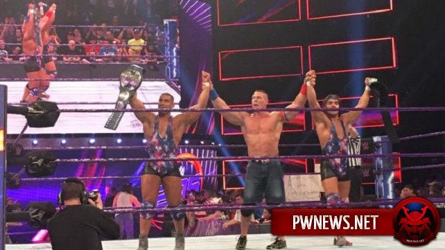 Большой тёмный матч после WWE 205 Live