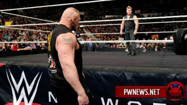 Брок Леснар и Крис Джерико должны выступить на предстоящем Raw
