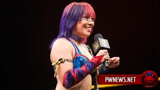 Действующая чемпионка женщин NXT Аска может быть задейс...